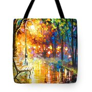 Unresolved Feelings - Palette Knife Oil Painting On Canvas By Leonid Afremov Tote Bag