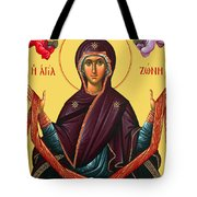 Unspoken Mary Tote Bag