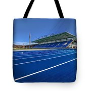 Until The Race Is Run Tote Bag