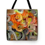 Untitled 405 Tote Bag