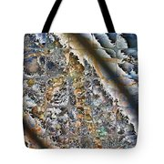 Pond Abstract Tote Bag