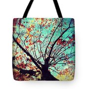 Untitled Tree Web Tote Bag