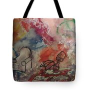 Untitled Watercolor 1998 Tote Bag