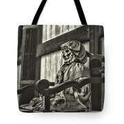 Unusual Statue 2 Tote Bag