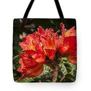 Unusual Tulips Tote Bag