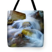 Unyeilding Rock Tote Bag