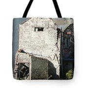Unzipped Tote Bag