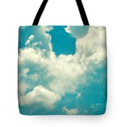 The Kiss Of The Clouds Tote Bag