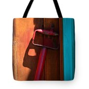Up Against The Wall Tote Bag