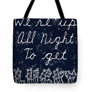 Up All Night Tote Bag by Pati Photography