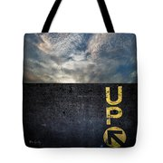 Up At Sunrise Tote Bag