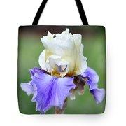 Up Close Elegant Iris Tote Bag