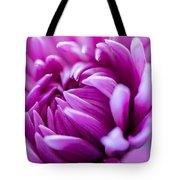 Up-close Flower Power Pink Mum  Tote Bag