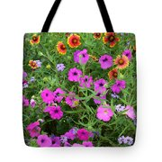 Up Close In The Garden I Tote Bag