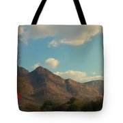 Up Close Mountains Tote Bag