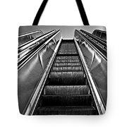 Up Escalator Tote Bag