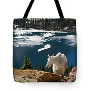 Up From The Lake Tote Bag
