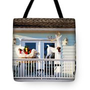 Up On The Rooftop  Tote Bag