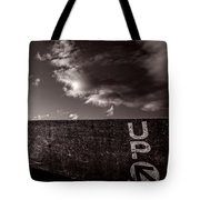 Up One Tote Bag