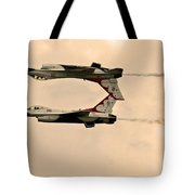 up side down Thunderbird's  Tote Bag