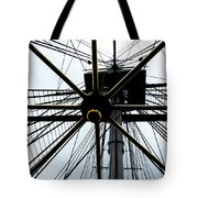 Up The Rigging Tote Bag