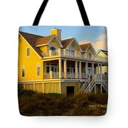 Up The Stairs At Isle Of Palms Tote Bag