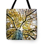 Up The Tree Tote Bag