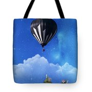Up Through The Atmosphere Tote Bag by Juli Scalzi