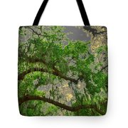 Up Through The Haunted Tree Tote Bag
