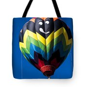 Up Up And Away In My Beautiful Balloon Tote Bag by Edward Fielding