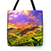 Upcountry Maui Sunset Tote Bag