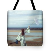 Upended Umbrella Tote Bag by Joana Kruse