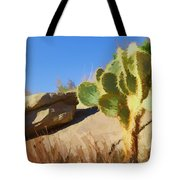 Uphill All The Way Tote Bag