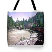 Uphill To Silverton Tote Bag