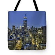 Upon A Restless Night Tote Bag