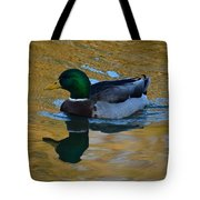 Upon Sunset Waters Tote Bag