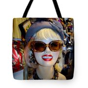 Upper East Side Lady Tote Bag