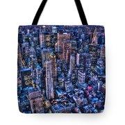 Upper East Side Skyline Tote Bag