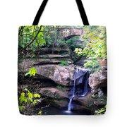 Upper Old Mans Cave Falls Tote Bag