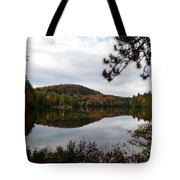 Upper Saranac Bay In Fall Tote Bag