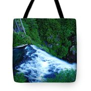 Upper View Of Narada Falls Tote Bag