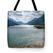 Upper Waterton Lake Tote Bag