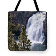 Upper Yellowstone Falls Tote Bag