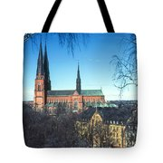 Uppsala Cathedral Tote Bag