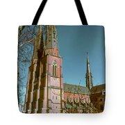 Uppsala Cathedral Spires  Tote Bag