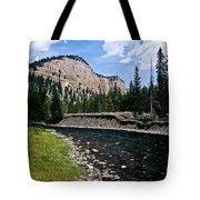 Upriver In Washake Wilderness Tote Bag