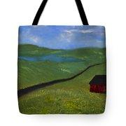 Upstate Lakes Region Tote Bag