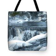 Upstream At Bond Falls Tote Bag