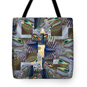 Upstream Tote Bag by Tim Allen