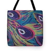 Uptown Peacock Tote Bag